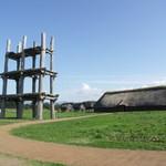 五千年の星 - 初夏の三内丸山遺跡の様子