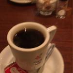 フジオ珈琲 - コーヒー  ビスケット付き 450円