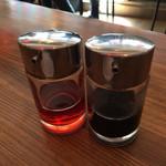 35199514 - 黒酢とラー油