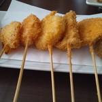 35199673 - 野菜の串カツ盛(ランチ)