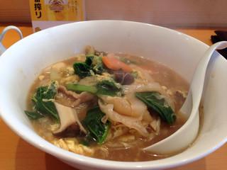 中国菜 一燈火 - 五目あんかけ麺山椒風味 ¥1,000