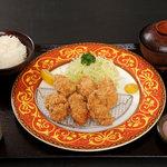はららき - 料理写真:カキフライ御膳 1000円