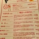 35201017 - お酒メニュー