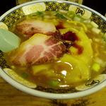 すごい煮干ラーメン凪 新宿ゴールデン街店本館 - すごい煮干しらーめん 820円