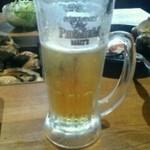 浜焼き しんちゃん - 生ビールはサントリープレモル