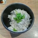 浜焼き しんちゃん - 釜揚しらすご飯 380円