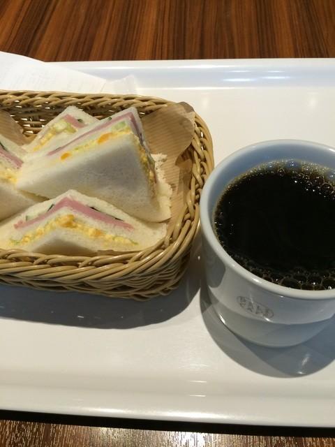 デリカフェ・キッチン オオサカ ミドウ - サンドセット