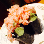 ひまわり寿司 - かにサラダ