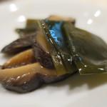 35206031 - 昆布と椎茸の煮物アップ