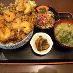 35206451 - ミックスかき揚丼