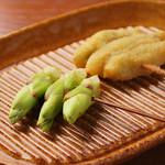 串ゆう - タラの芽(1本)140円