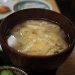 舞浜 - 味噌汁