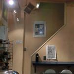 レイズコーヒー - 2階への階段