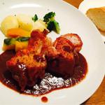 ポポラーレ - ランチ 若鶏のグリル 980円☆