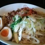 四川担担麺長尾 - 汁なし担担麺 800円