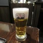 炭火焼鳥 真骨鳥 - 生ビール