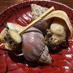 35214778 - 小皿コース:つぶ貝