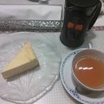デンマーク・ザ・ロイヤルカフェ - チーズケーキ&アールグレイ