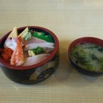 ん寿司 - ランチ お任せチラシ