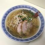 ラーメン田 - 塩ラーメン600円