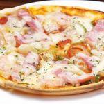 生ハムのピザ/ミックスピザ