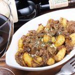 チョリソと白菜のアンチョビグリル/焼きロールキャベツ