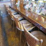 和カフェ 茶囲家 - カウンター席