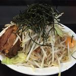 自家製麺キリンジ - 2015/2/18汁ナシ豚800円大盛りニンニク無し