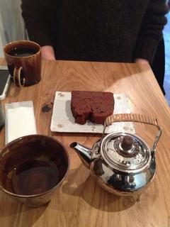 メルシーベイク - ガトーショコラ ほうじ茶