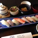 魚料理・寿司 二反田 - 寿司定食