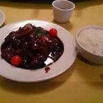 黄鶴楼 - 酢豚定食