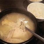 35221789 - ランチ サムゲタン定食