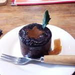 油揚げ - チョコレートケーキも甘さ控えめや~