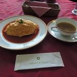 オークラカフェ&レストラン メディコ - オムライス スープ付