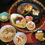 味処 なかや - 料理写真:牛ステーキ膳 1000円