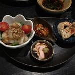 口福家 HANARE - 前菜4種