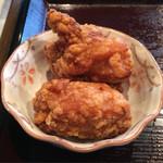 高揚 - 「ラーメンセット」1000円の唐揚げ