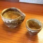 蕎麦工房 膳 - 英勲 純米酒