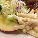 和光食堂 - マカロニサラダって、嬉しいね❀