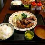 和光食堂 - 豚テキ定食 \850(税込)