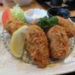 旬菜料理 楽 - カキフライ