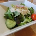 旬菜料理 楽 - サラダ