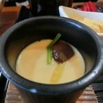 旬菜料理 楽 - 茶碗蒸し?