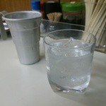 居酒屋 - 米焼酎『耶馬美人』(90ml 300円)