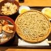 Wakagi - 料理写真:かしわせいろ & ひるげ