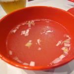 MR.CHICKEN鶏飯店 - チキンライスの付属スープ