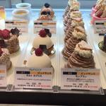 パティシェリア - ピュイサンスのケーキ