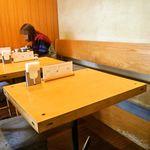 若木 - テーブル席