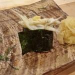 鮨 廣見 - 氷魚(アユの幼魚)