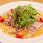 上総食材 カフカ - 旬魚のカルパッチョ